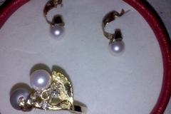 coordinato perle